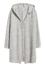 Hooded cardigan - Grey marl - Ladies | H&M CN 2