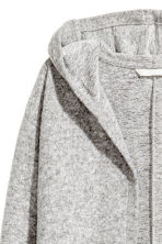 Hooded cardigan - Grey marl - Ladies | H&M CN 3