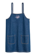 Denim dress - Dark denim blue - Ladies | H&M 2