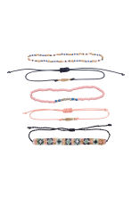 5-pack bracelets - Multicoloured - Ladies | H&M CN 2