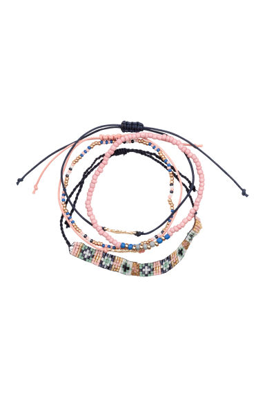 5-pack bracelets - Multicoloured - Ladies | H&M CN 1