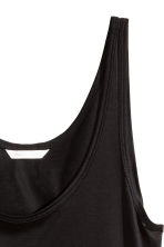 Jersey vest top - Black - Ladies | H&M CN 3