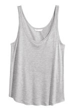 Jersey vest top - Grey marl - Ladies | H&M CN 2