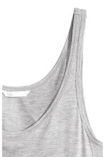 Jersey vest top - Grey marl - Ladies | H&M CN 3