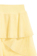 Pleated tulle skirt - Light yellow - Ladies | H&M 3