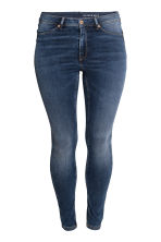 H&M+ Feather Soft Low Jeggings - Koyu kot mavisi -  | H&M TR 2
