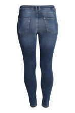 Feather Soft Low Jeggings - Dark denim blue - Ladies | H&M 3