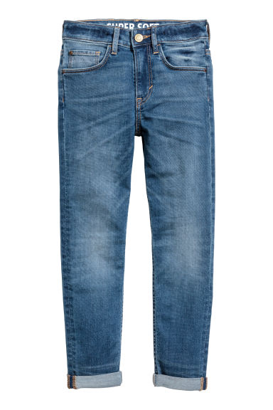 Super Soft Skinny fit Jeans - Denim blue - Kids | H&M 1