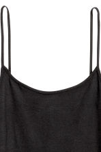 Short jersey dress - Black - Ladies | H&M CN 3