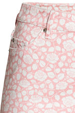 H&M+ Gonna di jeans fantasia - Rosa chiaro/fiori - DONNA | H&M IT 3