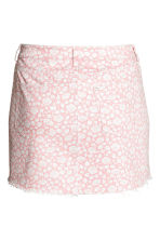 H&M+ 印花丹寧牛仔裙 - Light pink/Floral - Ladies | H&M 2