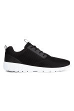 Mesh trainers - Black - Men | H&M 1