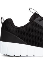 Mesh trainers - Black - Men | H&M 2