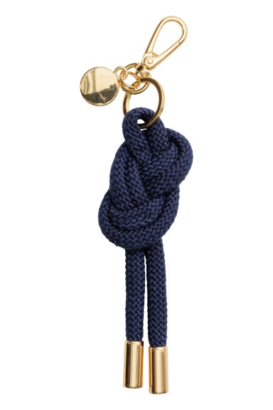 Keyring - Dark blue - Ladies | H&M CN 1