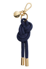 Keyring - Dark blue - Ladies | H&M 1