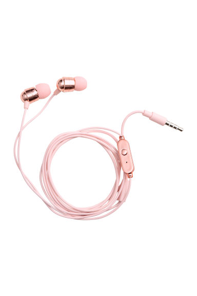In-ear headphones - Light pink - Ladies | H&M 1