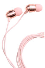 In-ear headphones - Light pink - Ladies | H&M CN 2