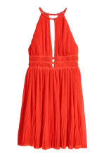 Pleated dress - Red -  | H&M 2