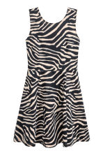 Short jersey dress - Zebra print - Ladies | H&M 2