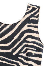 Short jersey dress - Zebra print - Ladies | H&M 3