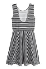 Short jersey dress - White/Striped - Ladies | H&M 3