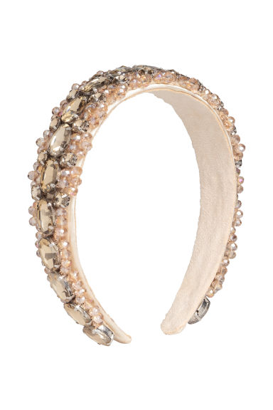 Sparkly Alice band - Powder pink - Ladies | H&M 1