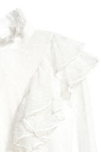 Lace blouse - Natural white -  | H&M 3