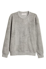 Pile top - Grey - Men | H&M CN 1