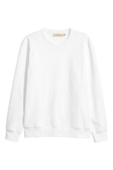 Sweat - Blanc - HOMME | H&M FR 1