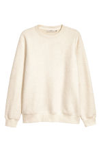 Sweatshirt - Natural white - Men | H&M 1