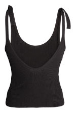 Top a coste - Nero -  | H&M IT 3
