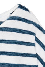 Long-sleeved top - Dark blue/Striped -  | H&M CN 3