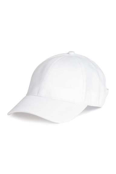 Tie-back cap - White - Ladies | H&M 1