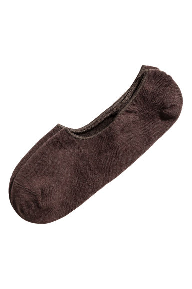Shaftless socks - Burgundy - Men | H&M 1