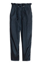 Oversized trousers - Dark blue - Ladies | H&M CN 2