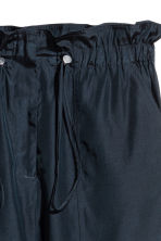 Oversized trousers - Dark blue - Ladies | H&M CN 3