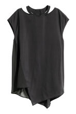 Asymmetric top - Black - Ladies | H&M 2