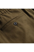 Wool-blend trousers - Khaki brown - Men | H&M 2