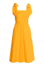 Lyocell-blend dress - Orange - Ladies | H&M CN 2