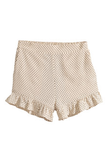 Short met volants