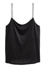 Jersey strappy top - Black - Ladies | H&M CA 2