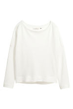 Sweatshirt - White - Ladies | H&M 2