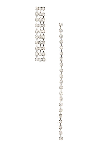 Sparkly earrings - Silver - Ladies | H&M