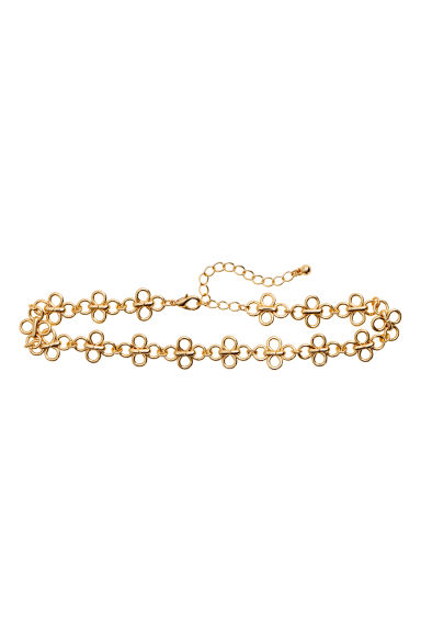 Metal choker - Gold - Ladies | H&M 1