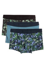 3-pack boxer shorts - Dark blue/Patterned - Men | H&M CN 2