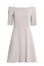 Crêpe dress - Light mole - Ladies | H&M CN 2