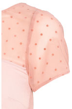 MAMA Top with a mesh yoke - Powder pink - Ladies | H&M 3