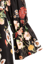 Patterned dress - Black/Floral - Ladies | H&M 3