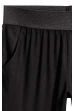 Pull-on trousers - Black - Ladies | H&M 3