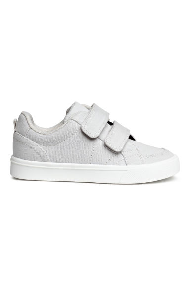 Canvas trainers - Light grey - Kids | H&M 1